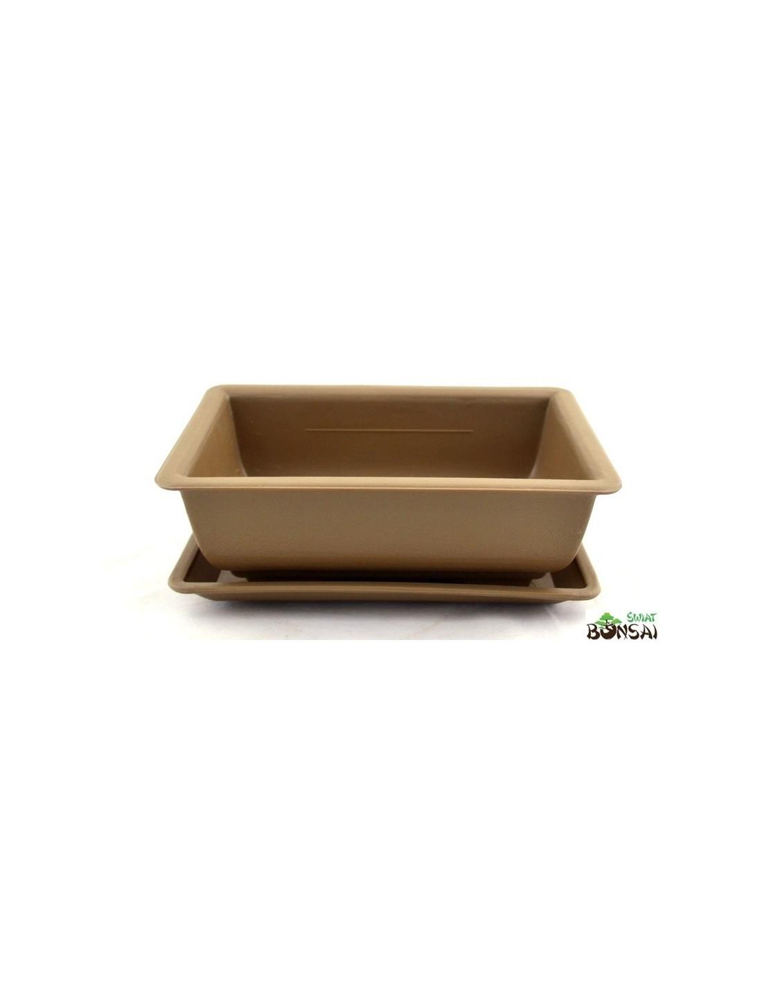 Doniczka Prostokątna świat Bonsai